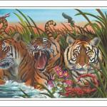Tiger-Scorpio Poster