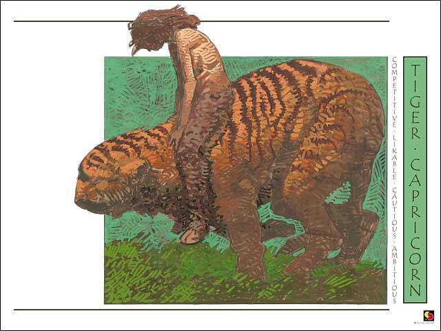 Tiger-Capricorn CARD