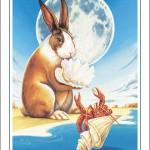 Rabbit-Cancer Poster