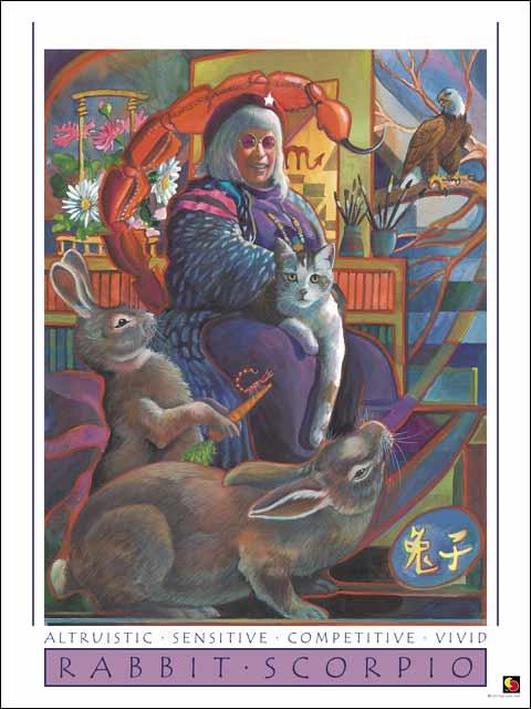 Rabbit-Scorpio Poster
