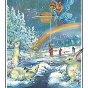 Rabbit-Aquarius Poster