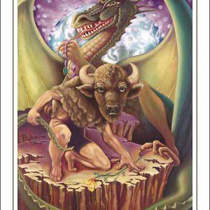 Dragon-Taurus Poster