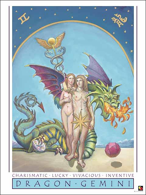 Dragon-Gemini CARD