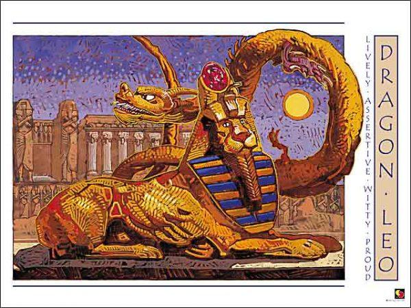 Dragon-Leo Poster