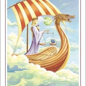 Dragon-Libra Poster