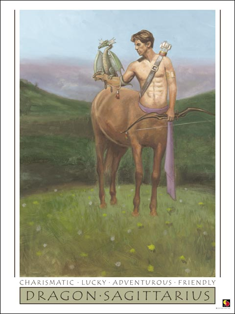 Dragon-Sagittarius CARD