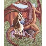 Dragon-Capricorn Poster