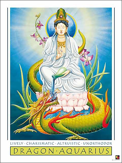 Dragon-Aquarius Poster