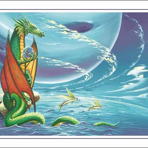 Dragon-Pisces Poster
