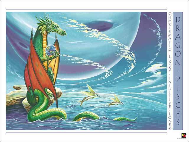 Dragon-Pisces CARD