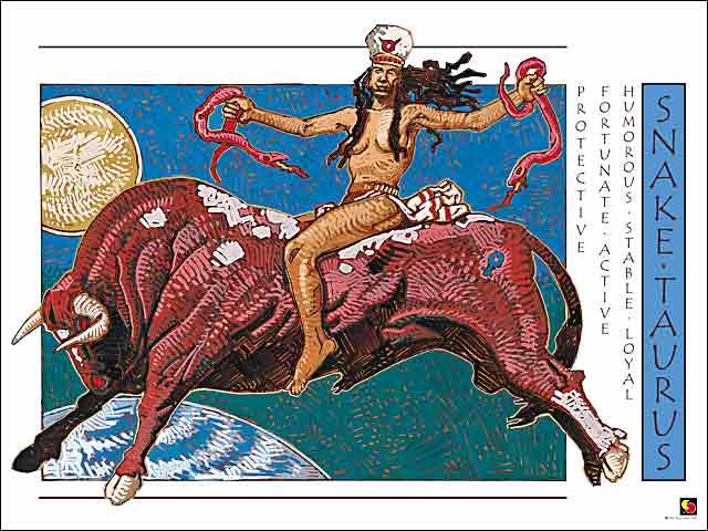 Snake-Taurus Poster