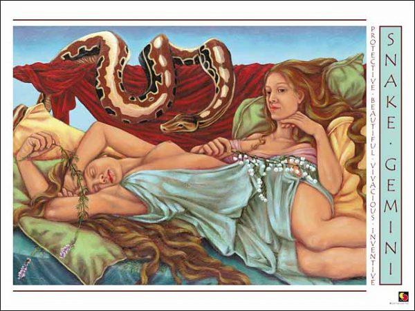 Snake-Gemini CARD