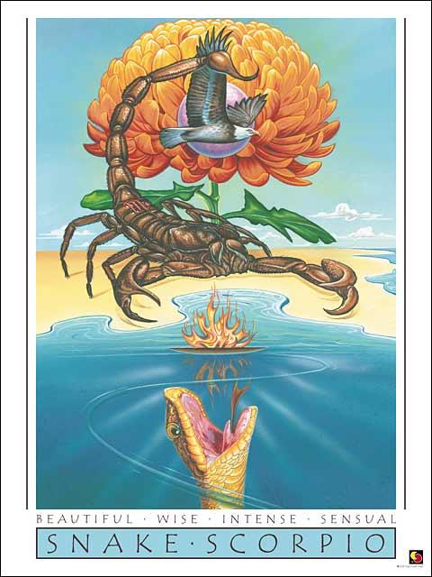 Snake-Scorpio CARD