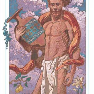 Snake-Aquarius Poster