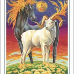 Horse-Aries Poster