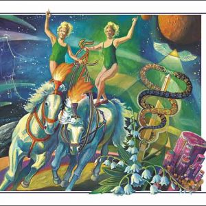 Horse-Gemini CARD