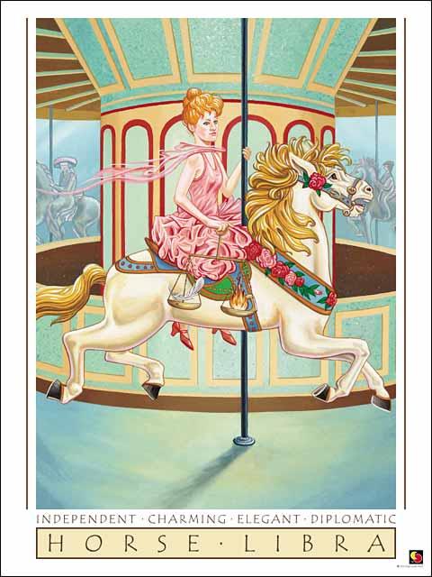 Horse-Libra CARD