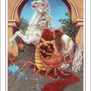 Horse-Scorpio CARD