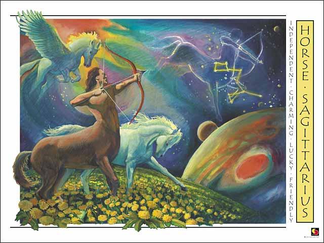 Horse-Sagittarius CARD