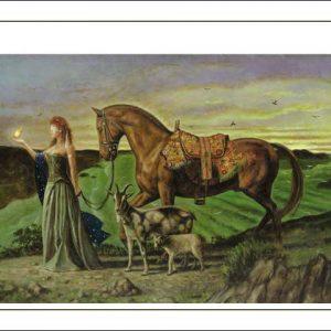 Horse-Capricorn Poster
