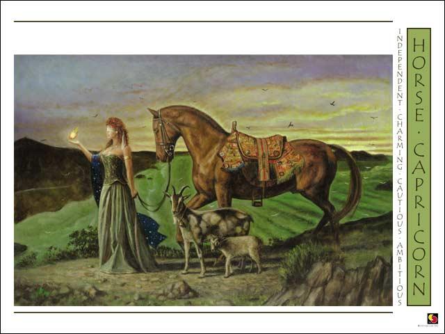 Horse-Capricorn CARD