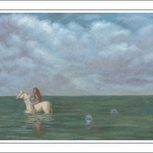 Horse-Aquarius Poster