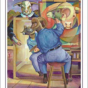 Ram-Taurus Poster