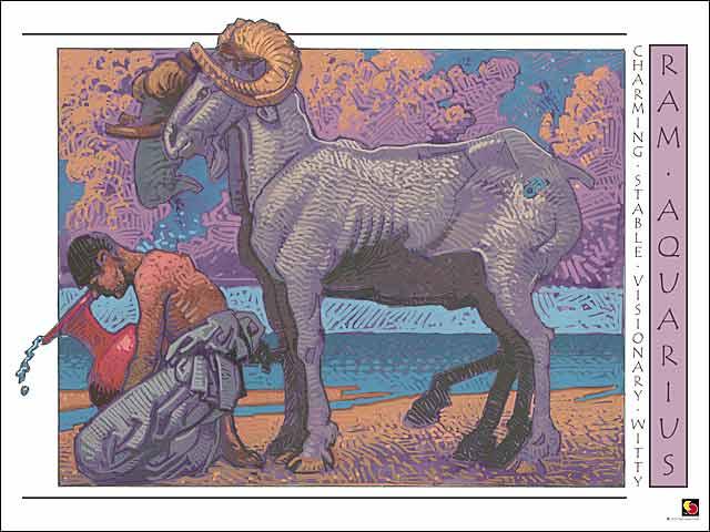Ram-Aquarius Poster
