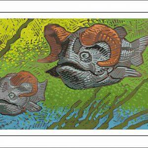Ram-Pisces Poster