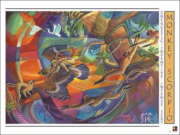 Monkey-Scorpio CARD