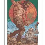 Monkey-Capricorn Poster