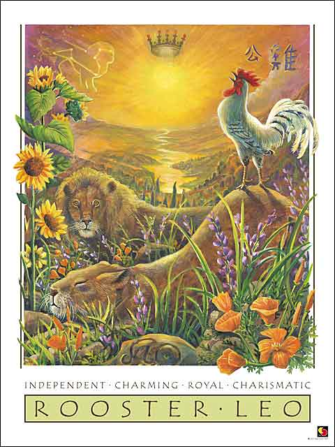 Rooster-Leo CARD