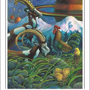 Rooster-Capricorn Poster
