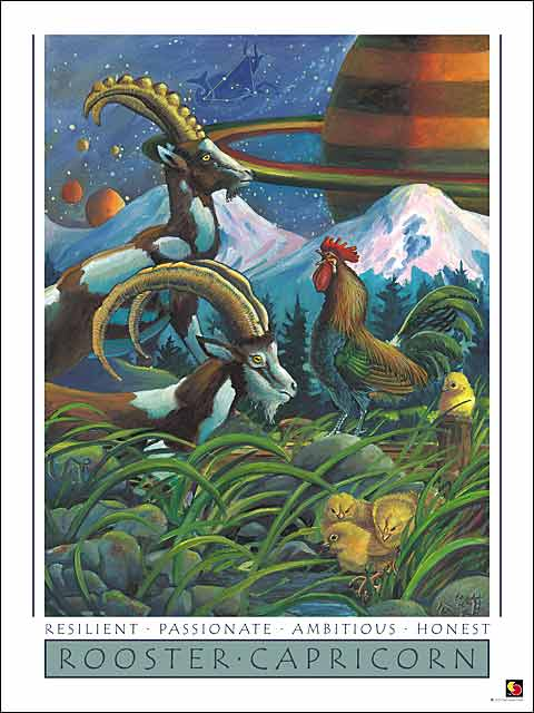 Rooster-Capricorn CARD