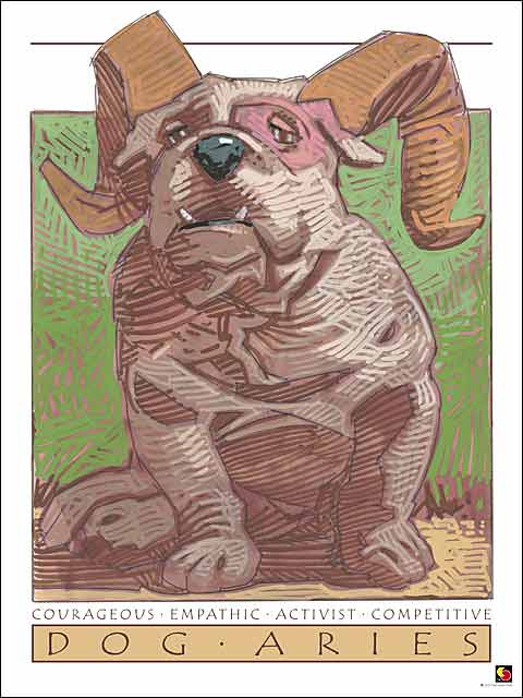 Dog-Aries CARD