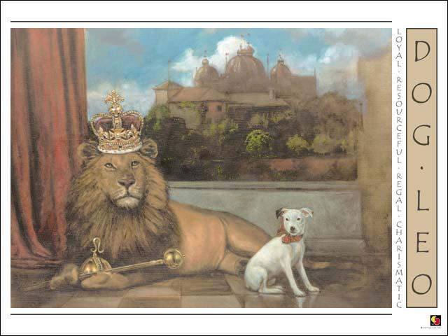 Dog-Leo CARD