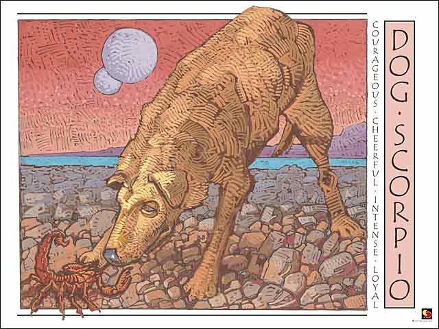 Dog-Scorpio CARD