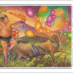 Pig-Aries Poster