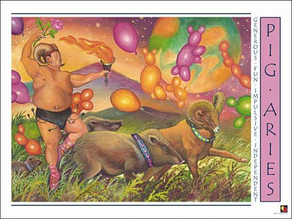 Pig-Aries CARD