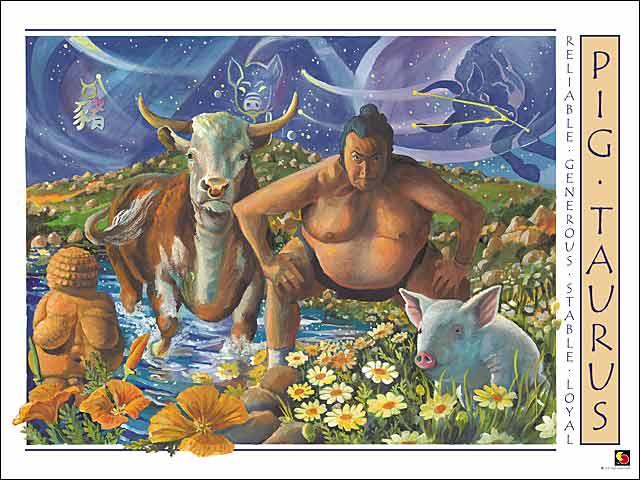 Pig-Taurus Poster