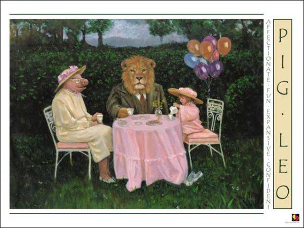 Pig-Leo Poster