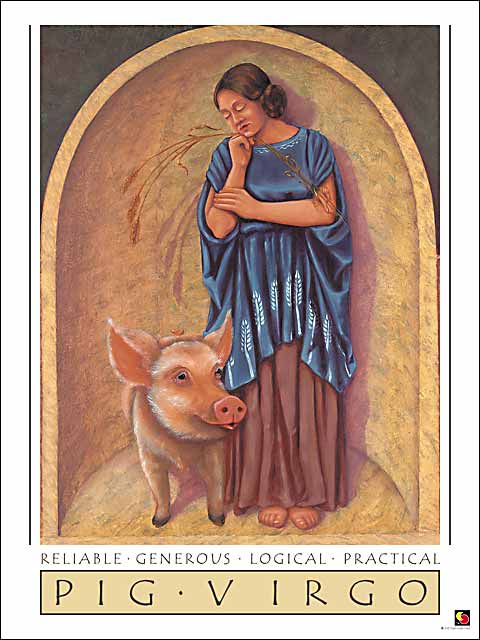 Pig-Virgo Poster