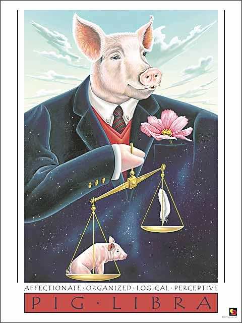 Pig-Libra Poster