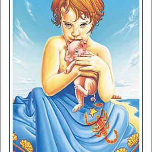 Pig-Scorpio Poster