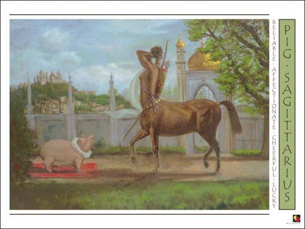 Pig-Sagittarius Poster