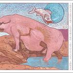 Pig-Pisces Card
