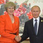 Libras Theresa May Vladamir Putin