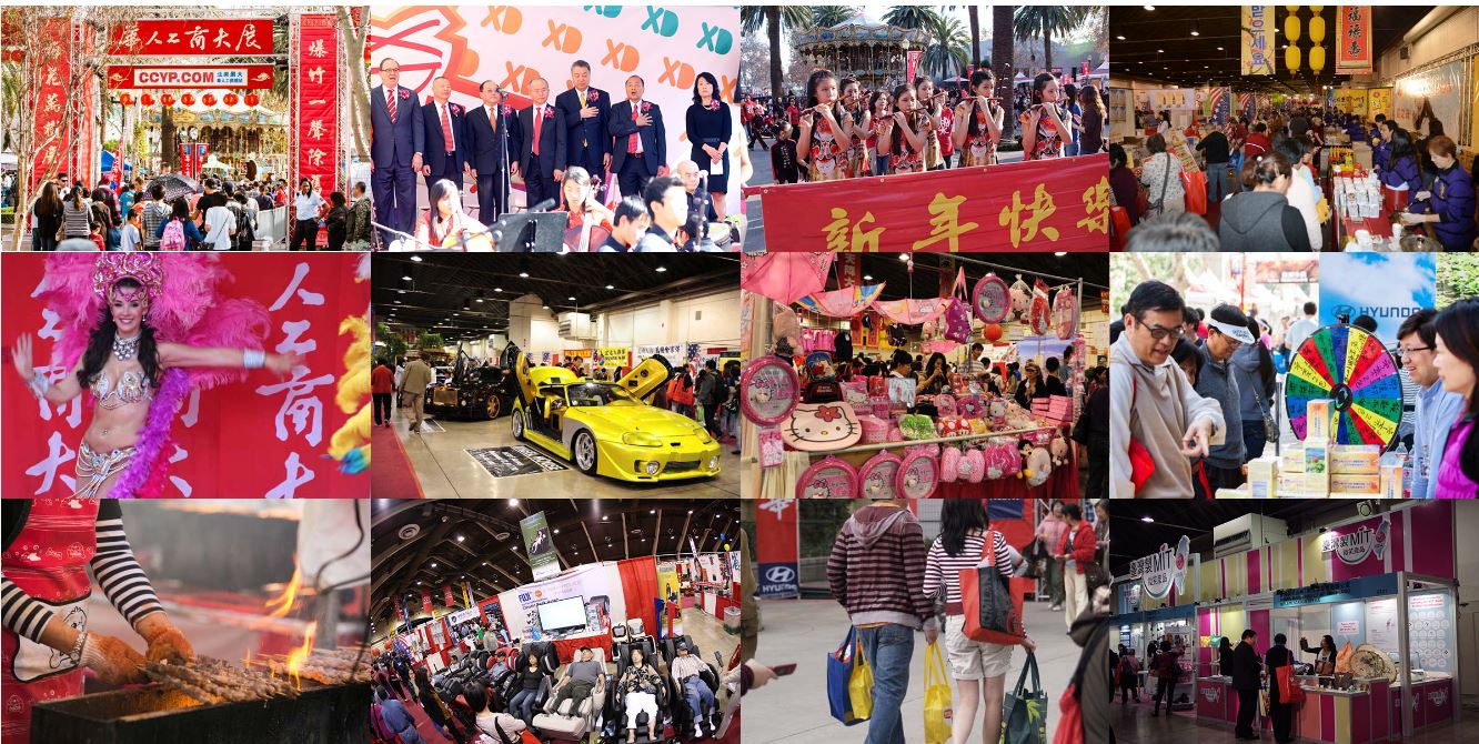 Photos from the Chinese American expo website