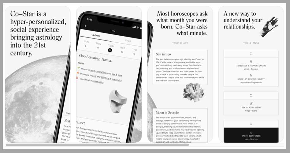 Co-star app